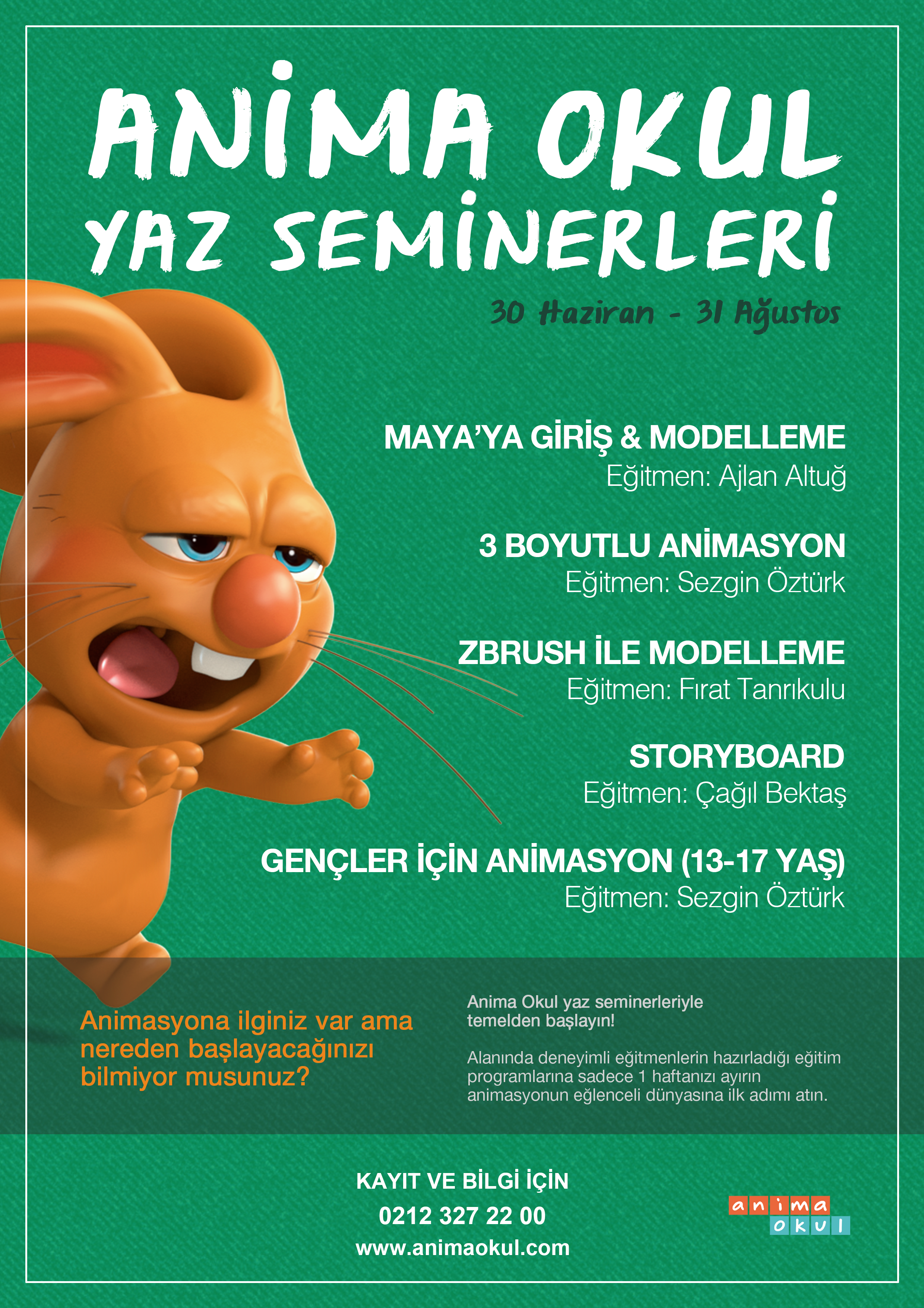 AnimaOkul_yazSeminerleri_poster