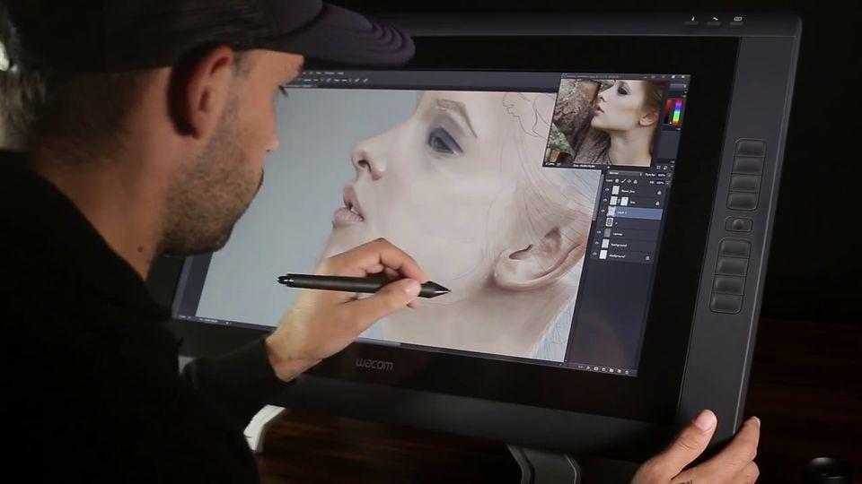 Digital-Portrait-Painting-of-a-Woman-1