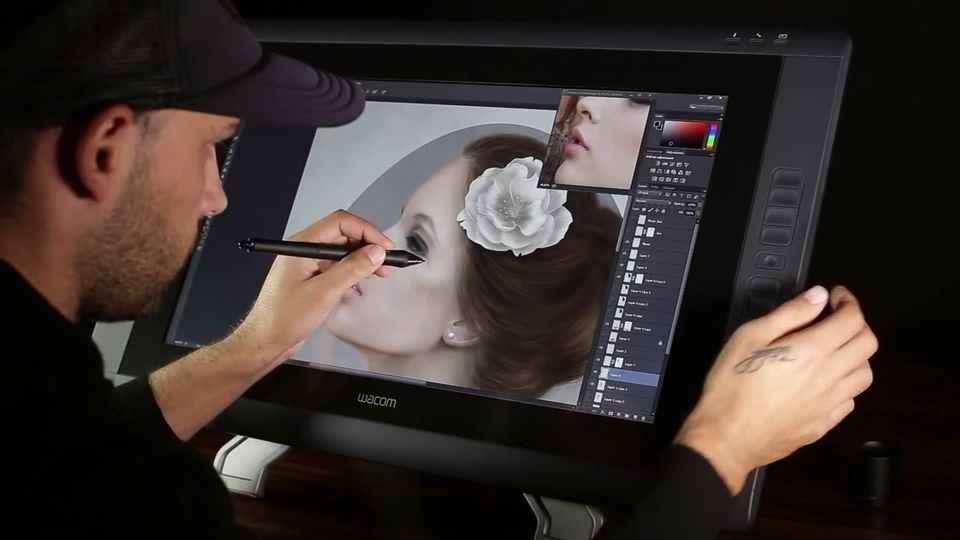 Digital-Portrait-Painting-of-a-Woman-2