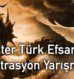 Monster Türk Efsaneleri İllüstrasyon Yarışması