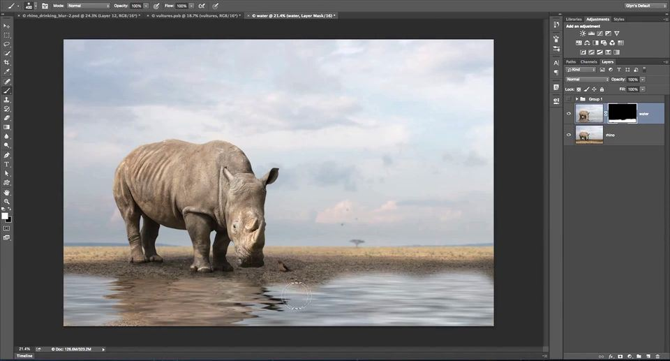 How to Create Fake Water in Photoshop   Animasyon Gastesi