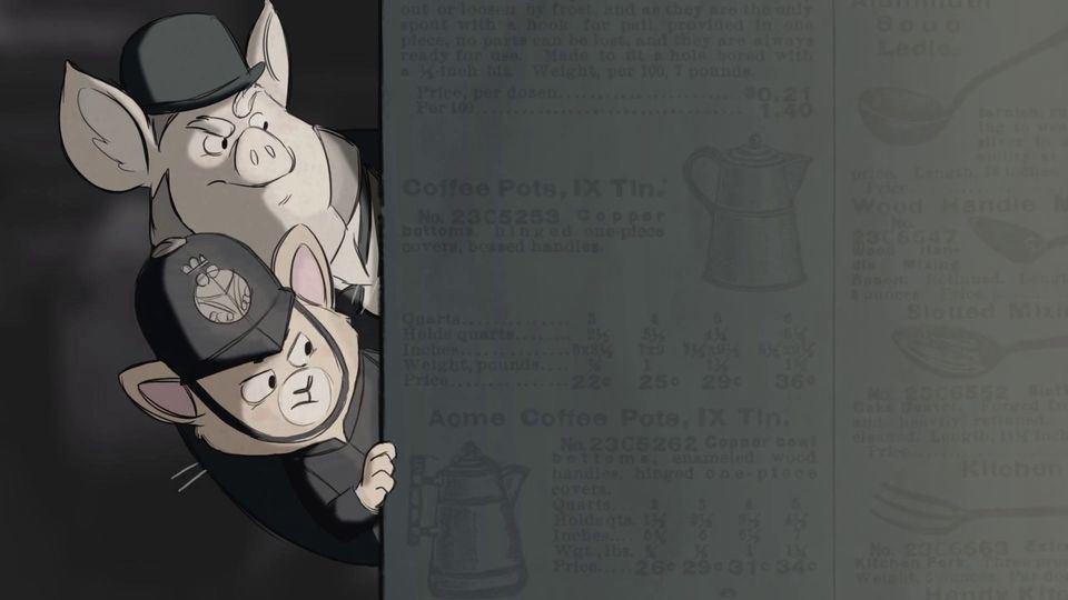The Casebook of Nips & Porkington - Kısa Film-9