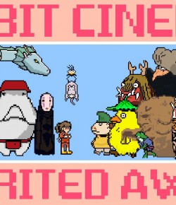 8-BIT CINEMA – SPIRITED AWAY & PRINCESS MONONOKE