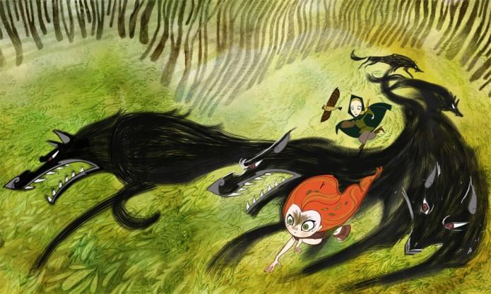 wolfwalkers-artwork-tomm-moore-cartoon-saloon