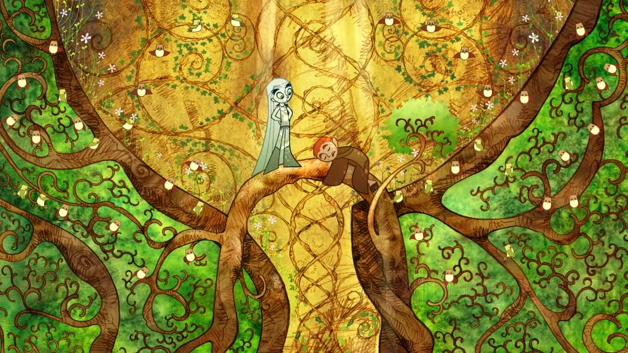 the-secret-of-kells-aisling-and-brendan