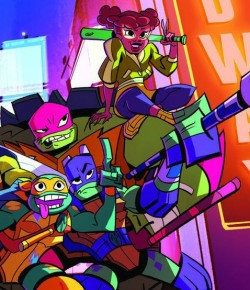 RISE OF THE TEENAGE MUTANT NINJA TURTLES UZUN METRAJ UYARLAMASIYLA GELİYOR