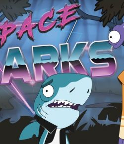 SPACE SHARKS (KISA ANİMASYON)